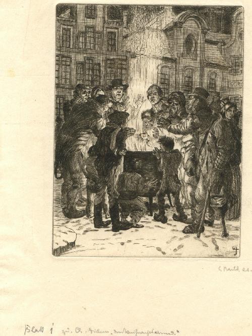 Ludwig Barth -Uchatzky - Barth- Uchatzky Sechs Radierungen zu Charles Dickens Weihnachtsabend kopen? Bied vanaf 650!