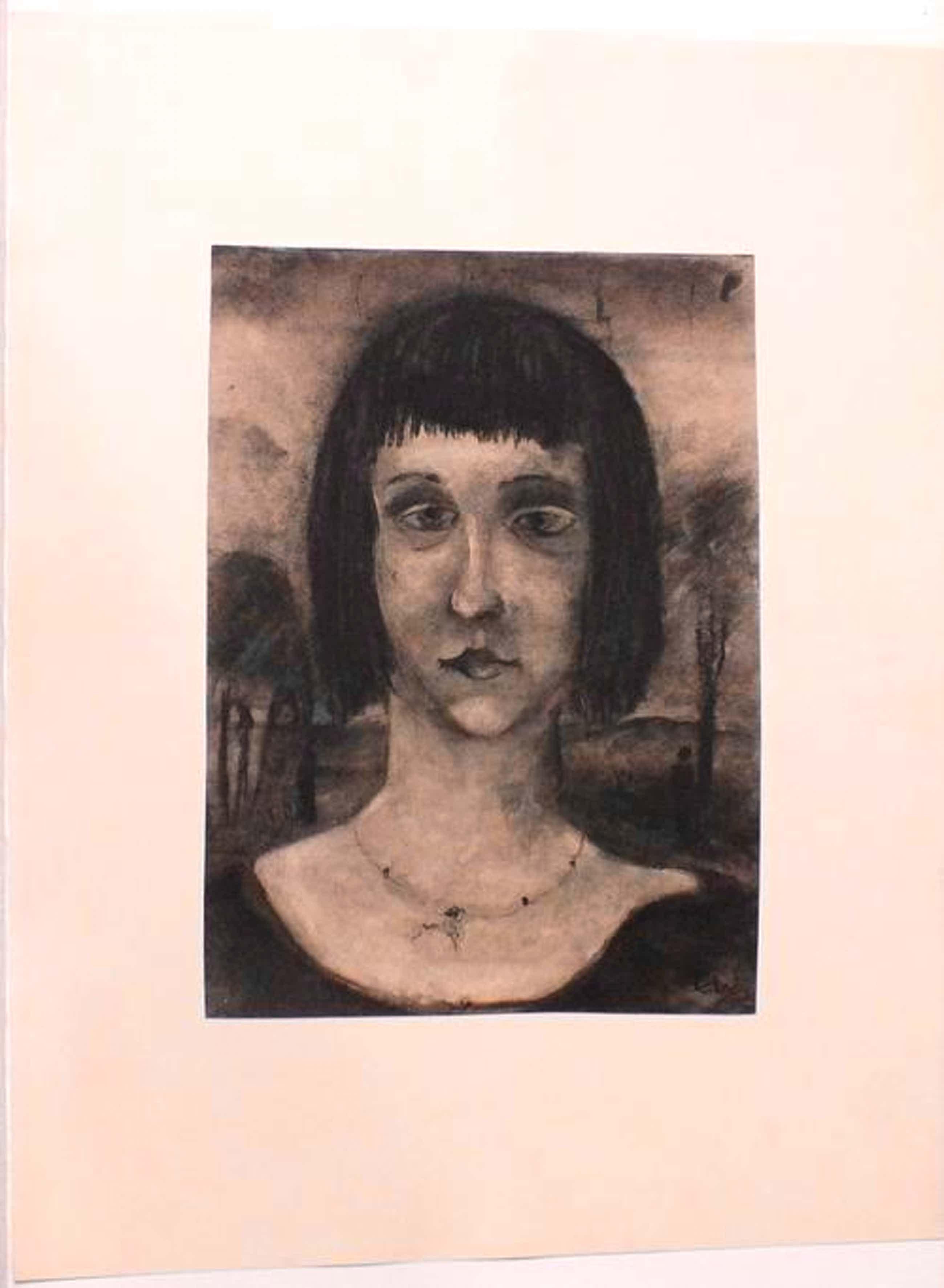 Siegfried Ebeling - Bauhaus Kreide auf Papier 1933 kopen? Bied vanaf 3600!