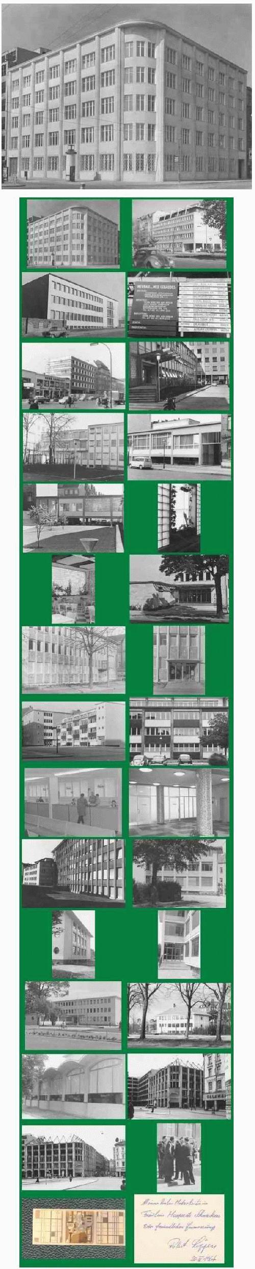 Max Krajewsky - BERLIN: Album mit 28 OriginalFotographien : BAUTEN des BERLINER STARArchitekten Robert SCHÖFFLER kopen? Bied vanaf 320!
