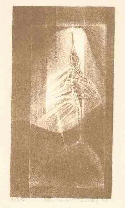 Irene Kiele - - BERNSTEIN - OriginalLithographie der TÜBKE/HEISIG-Schülerin,1997,handsigniert & datiert kopen? Bied vanaf 65!