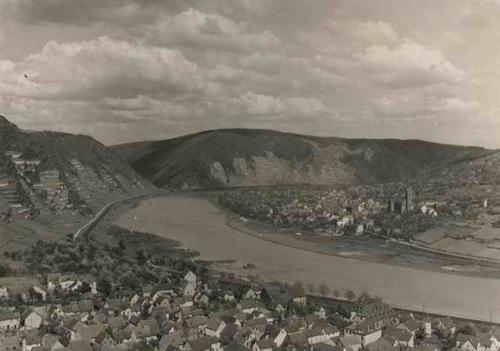 Paul W. John - BLICK über COBERN nach DIEBLICH /MOSEL - Handabzug des berühmten 30gerJahre-Fotografen kopen? Bied vanaf 36!