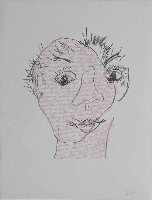 William Anastasi - - BLIND DRAWING - , Serigrafie auf Ingress, handmonogrammiert kopen? Bied vanaf 260!