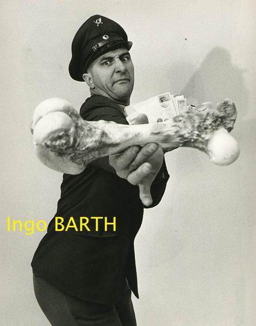 Ingo Barth - BRIEFTRÄGER - Jürgen FEINDT - genialer deutscher Tanzkomiker-Choreograph & Schauspieler - Handsign. kopen? Bied vanaf 110!