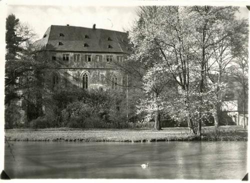 Paul W. John - BÜDINGEN in OBERHESSEN - SCHLOß PARKSEITE - Handabzug des berühmten 30gerJahre-Fotografen kopen? Bied vanaf 35!