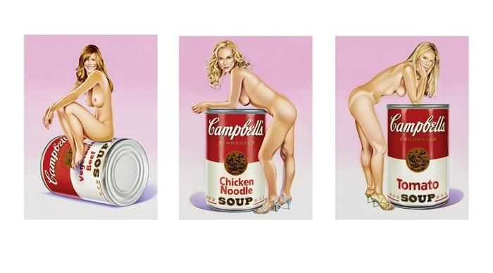 Mel Ramos - Campbell`s Soup Blondes kopen? Bied vanaf 2800!