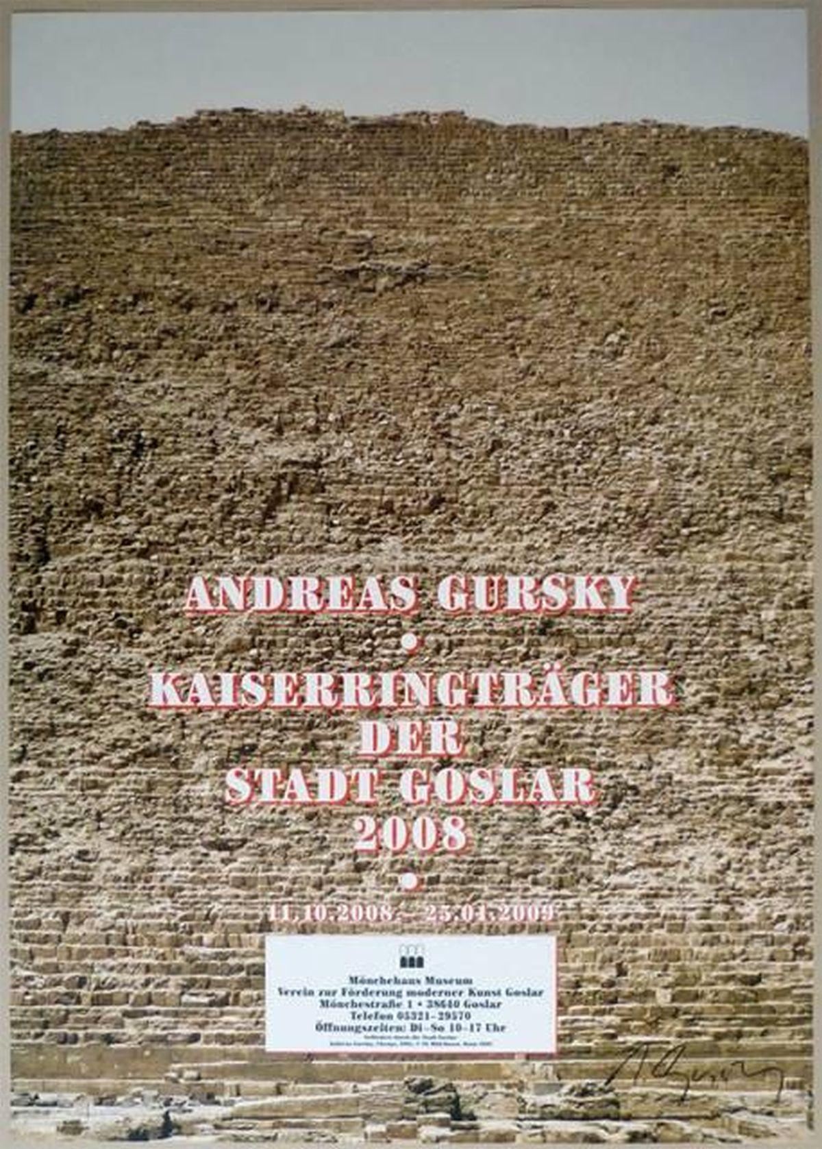 Andreas Gursky - Cheops, handsigniert kopen? Bied vanaf 360!