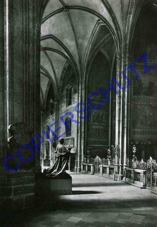 Josef Ehm - CHORUMGANG des VEITDOMS 1957 Original SilvergelatinPhotograph by Czech-AvantGarde kopen? Bied vanaf 75!