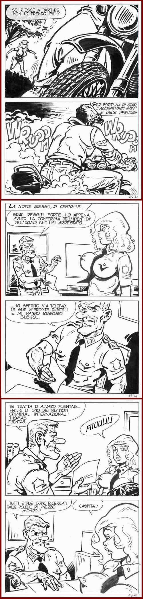 Sandro Angiolini - COMIC-ART : 6 erotische OriginalFederzeichnungen des ZeichenGiganten aus MAILAND - um 1970 kopen? Bied vanaf 65!
