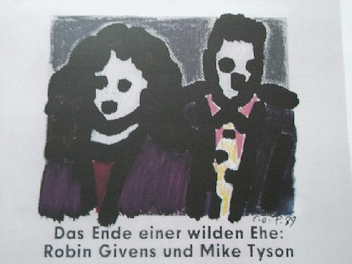 Claus Otto Paeffgen - DAS ENDE EINER WILDEN EHE..., 1990, Farb-Offset-Lithographie, signiert kopen? Bied vanaf 190!