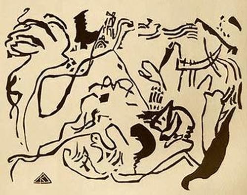 Wassily Kandinsky - Das Jüngste Gericht Holzschnitt 1911 Roethel 146 kopen? Bied vanaf 88!