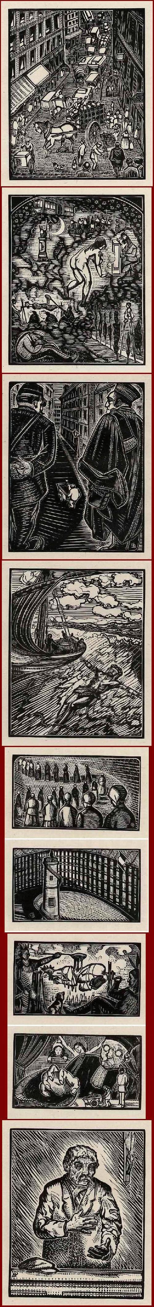 Gabriel Belot - Das KLEINE GLÜCK - Suite von 39 OriginalHolzschnitten - 1928 - Die STROHPUPPE (A.FRANCE) kopen? Bied vanaf 95!