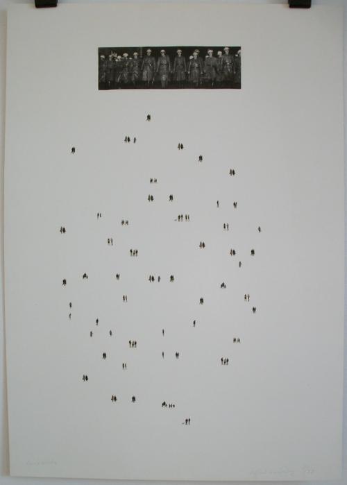 Raffael Rheinsberg - Demokratie Offsethlithografie/Collage kopen? Bied vanaf 280!