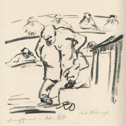 Rudolf Odebrecht - DEMOSTHENES in NÖTEN - Handsignierte & titulierte OriginalLithographie 1925 kopen? Bied vanaf 65!