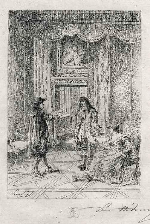 Edmond Hèdouin - Der CHARMANTE NEBENBUHLER - EauForte signée au crayon - Handsignierte OriginalRadierung kopen? Bied vanaf 45!