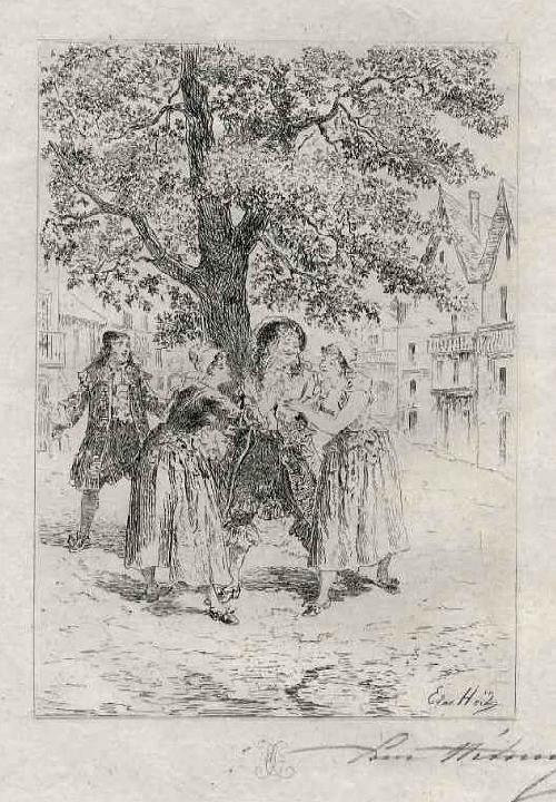 Edmond Hèdouin - Der CHARMEUR - OriginalRadierung - Handsigniert/ EAU FORTE Originale signée au crayon kopen? Bied vanaf 45!