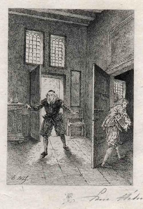 Edmond Hèdouin - Der DIEB - Handsignierte OriginalRadierung zu MOLIÈREs Der GEIZIGE - L´AVARE kopen? Bied vanaf 45!
