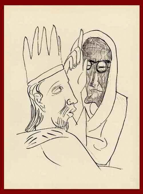 Max Beckmann - Der ENTWEIHTE RAUM, in dem man sich so VERSÜNDIGT - OriginalHolzstich 1957 mit Prägestempel 28 kopen? Bied vanaf 54!
