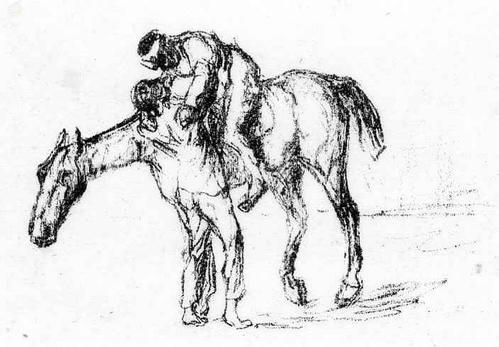 Max Liebermann - Der ERSCHÖPFTE REITER - OriginalLithographie 1917 - WVZ: Schiefler 226-303 kopen? Bied vanaf 65!
