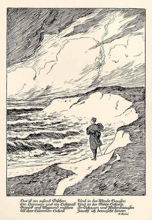 Franz Müller-Münster - Der HERBST - 1926 - OriginalMappe mit 10 Strichätzungen des Illustratoren d.BERLINer AKADEMIE - VBK kopen? Bied vanaf 110!
