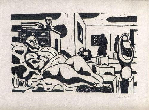 Gottfried Teuber - Der Kunsthändler - Linolschnitt - 1969 kopen? Bied vanaf 45!