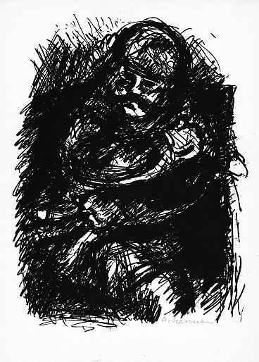 Helmut Ackermann - Der MANTEL von Nikolai GOGOL - handsigniert - 1964 Freund von RICHARD SEEWALD - MÜNCHNER AKADEMIE kopen? Bied vanaf 25!