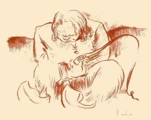 Fritz Heubner - Der WILDE KUTSCHER - 1923 - Handsignierte OriginalRötelLithographie des SIMPLICISSIMUS-Illustratoren kopen? Bied vanaf 38!