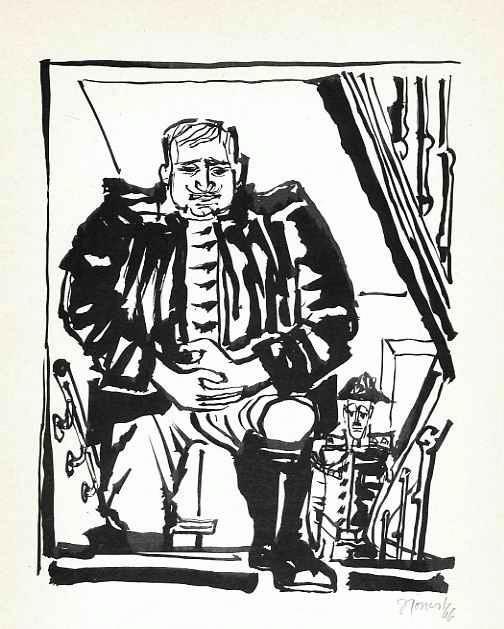Honest Schempp - DICKER MANN der HAMLET HIEß - Handsigniert 1966 (LINDAUER KREIS - NEUE GRUPPE LINDAU) kopen? Bied vanaf 34!