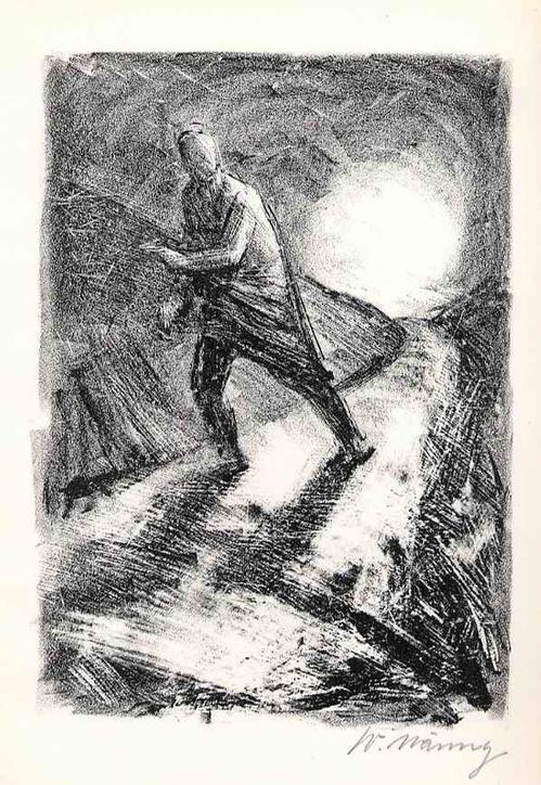 Werner Nänny - Die AUFLÖSUNG - handsignierte OriginalLithographie SCHWEIZer Künstlers aus BASEL zu Hephaistos 1954 kopen? Bied vanaf 36!
