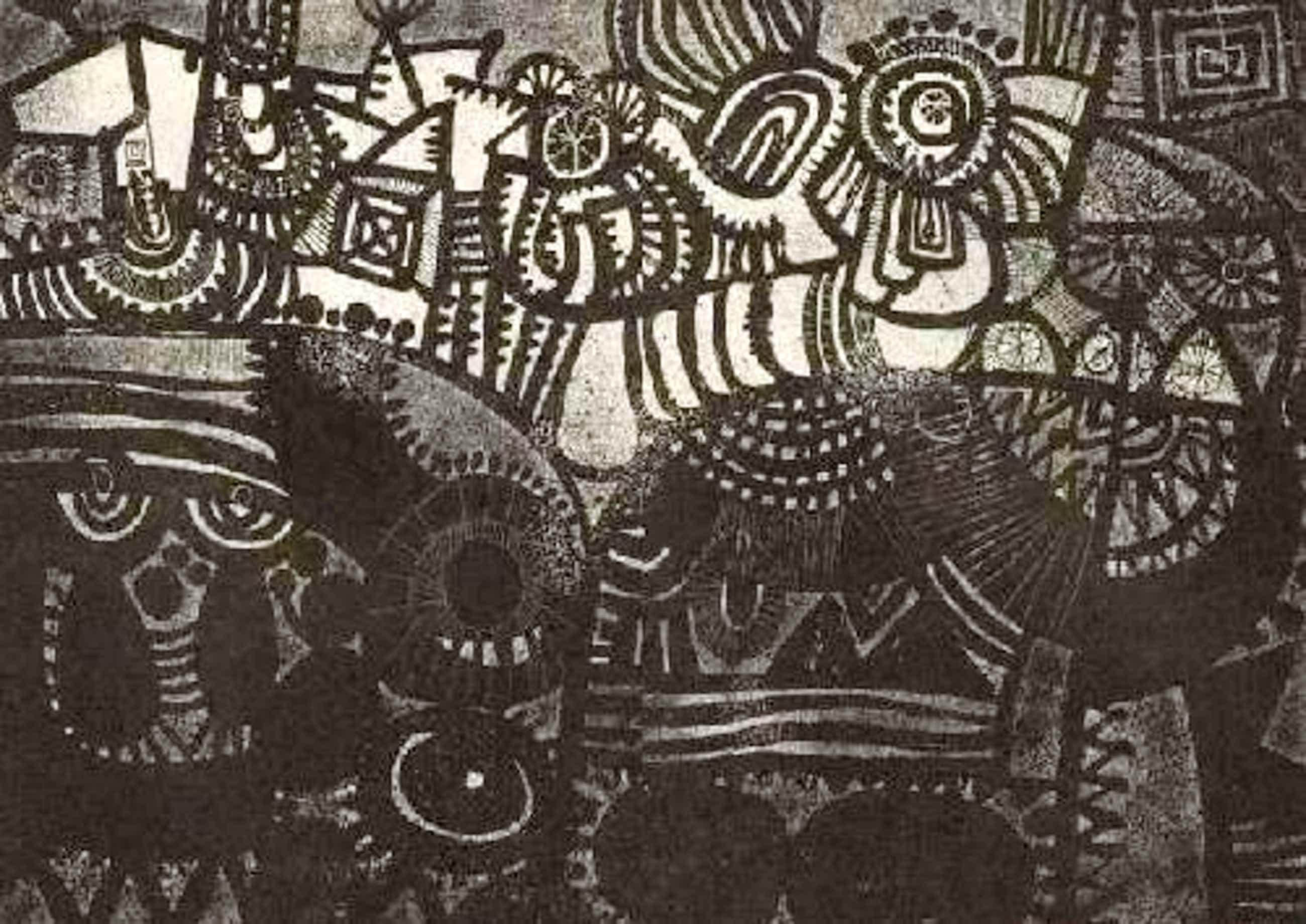 Carlos Duss - Die ÄUSSERE WELT - handsignierte OriginalHandätzung des SCHWEIZer Illustratoren a.SEVILLA (SPEKTRUM) kopen? Bied vanaf 45!