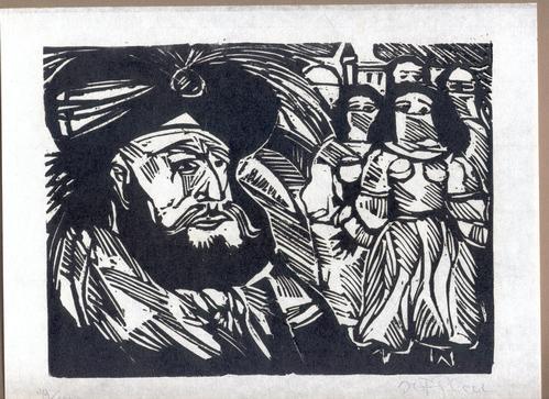 Herbert Felix Plahl - Die Brücke über die Drina - zu Ivo Andric - Holzschnitt - 1971 kopen? Bied vanaf 45!