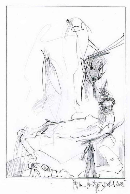 Jean Boskja Missler - Die ENGEL - Handsignierte OriginalBleistiftzeichnung des Künstlers aus KASSEL - 2005 kopen? Bied vanaf 35!