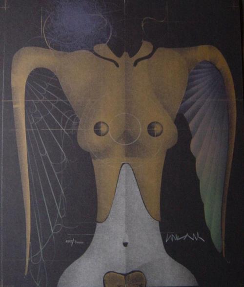 Paul Wunderlich - Die geflügelte Nike, Original-Lithographie, 1977, 40 x 31 cm, num. und handsign. kopen? Bied vanaf 140!