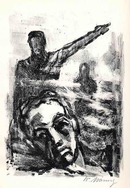 Werner Nänny - Die GEGENSÄTZE - handsignierte OriginalLithographie SCHWEIZer Künstlers aus BASEL z.Hephaistos 1954 kopen? Bied vanaf 36!