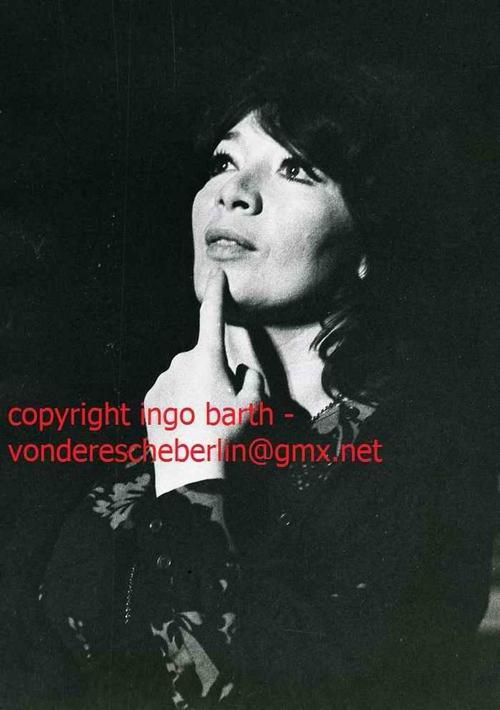 Ingo Barth - Die GRANDE DAME de la CHANSON - Juliette GRECO - Handsignierter Handabzug des Fotografen - VINTAGE kopen? Bied vanaf 120!