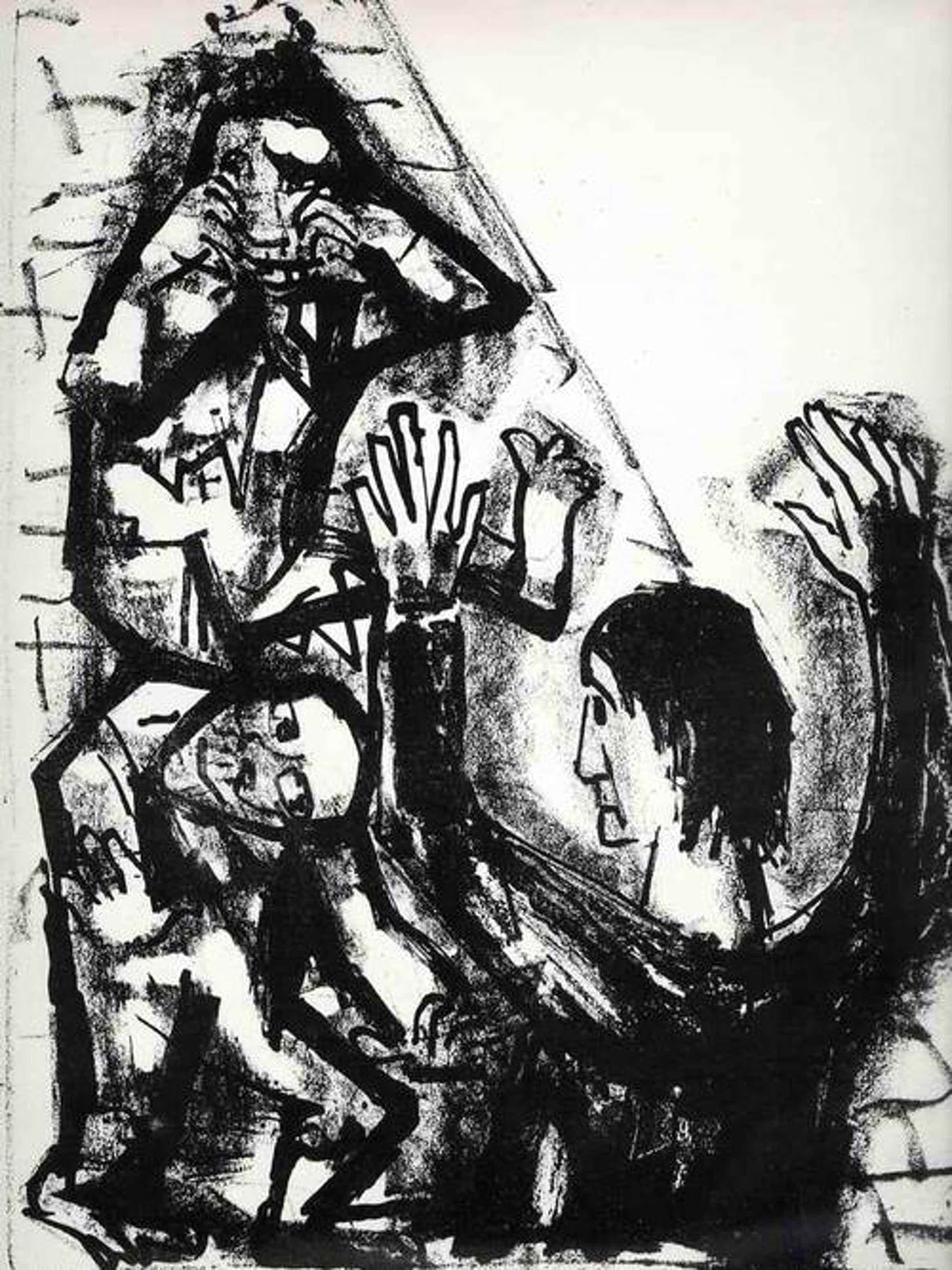 Otto Dix - Die HEILUNG ZWEIER BESESSENER - 1960 - OriginalLithographie (Handabzug) des ENTARTETEN DADAisten kopen? Bied vanaf 75!