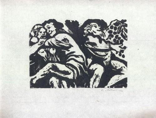 Helmut Ackermann - Die lasterhaften Balladen - zu Francois Villon - Holzschnitt 1970 kopen? Bied vanaf 45!
