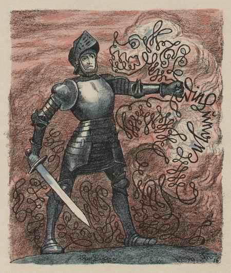 Hans Thoma - - Die LÜGE - colorierte Original-KreideLithographie mit dem Signet der BERLINER SEZESSION 1916 kopen? Bied vanaf 95!