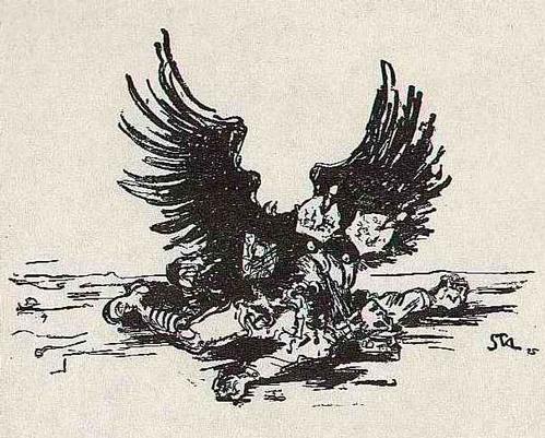 Arthur Stadler - Die MACHT - 1930 - Suite von 3 Lithographien des ÖSTERREICHers zu den SCHRECKEN des KRIEGES kopen? Bied vanaf 45!