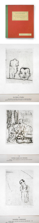 Hans Reimann - Die sächsische Volksseele in ihren Wallungen, 10 Originalradierungen, 1922. (Expressionismus) kopen? Bied vanaf 460!