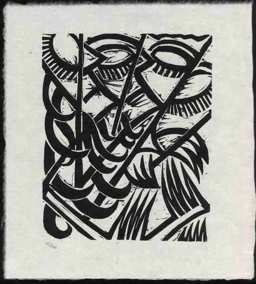Otto Müller - Die SANFTE REVOLTIERT - 1921 Nummeriert Eines von 60 Ex. - Rückwärtig von Margarete MÖLLER signiert kopen? Bied vanaf 85!
