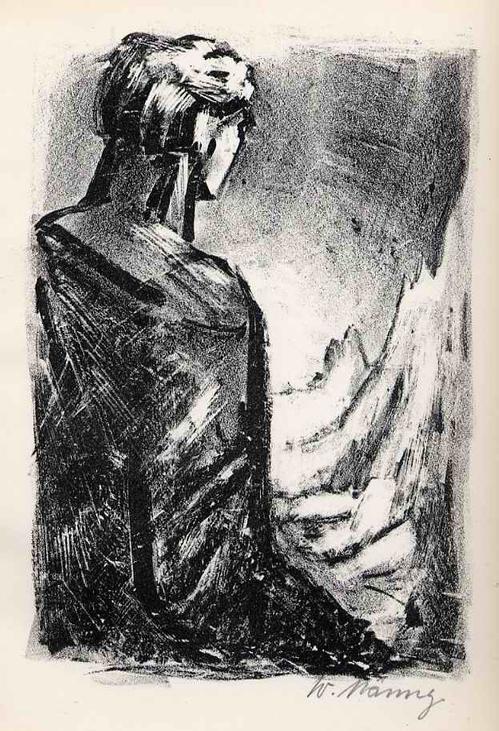 Werner Nänny - Die VERSUCHNUNG - handsignierte OriginalLithographie SCHWEIZer Künstlers aus BASEL z.Hephaistos 1954 kopen? Bied vanaf 36!