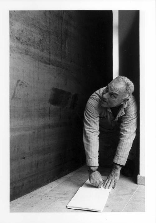 Dieter Schwerdtle - Dieter Schwerdtle- Porträt Richard Serra kopen? Bied vanaf 120!