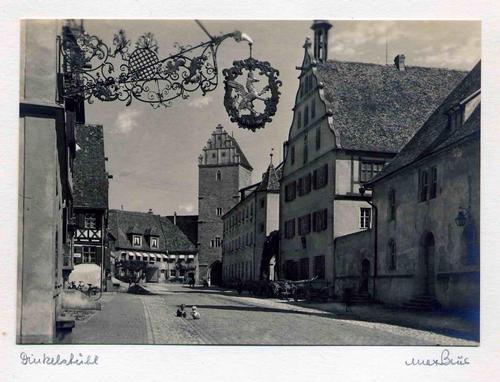 Max Baur - DINKELSBÜHL - handsignierte OriginalFotographie des MEISTERs der photographischen MODERNE (BAUHAUS) kopen? Bied vanaf 45!
