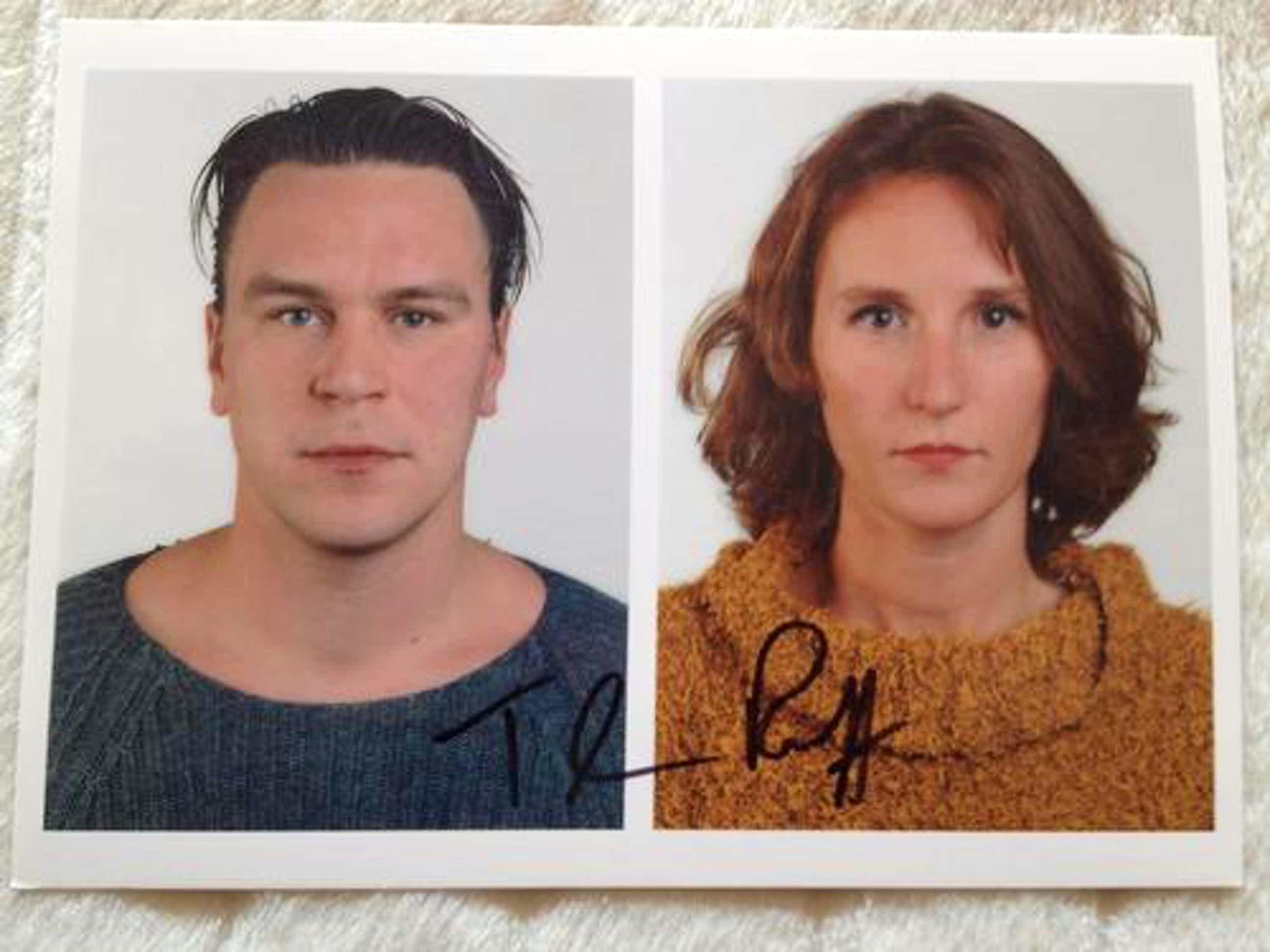 Thomas Ruff - Doppelportrait, handsigniert auf xl-Kunstporstkarte kopen? Bied vanaf 280!