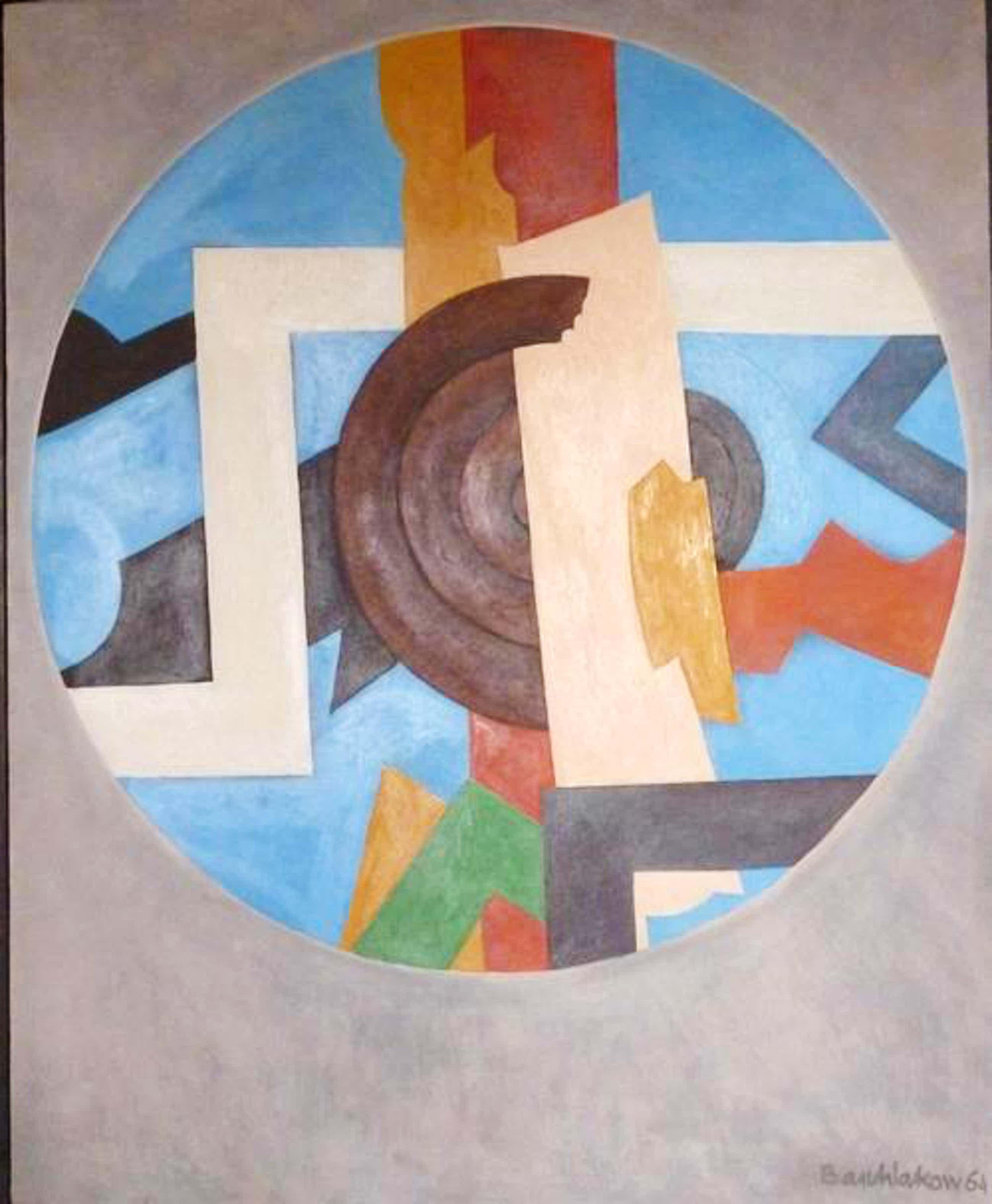 Alexej Illjitsch Baschlakow - Durchscha, Öl auf Holz, 1964 kopen? Bied vanaf 2250!