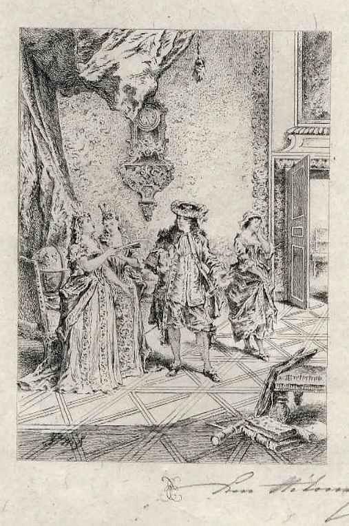 Edmond Hèdouin - - EauForte originale signée au crayon - Der CHARME der POESIE - Handsignierte OriginalRadierung kopen? Bied vanaf 39!