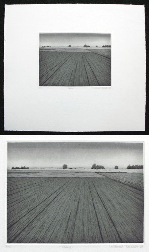 Michael Rausch - Ebene. Radierung, 1988. kopen? Bied vanaf 60!
