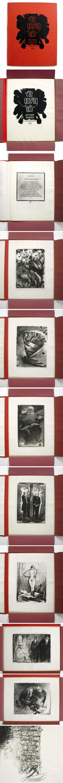 Paul Bürck - Ein garstig Lied von einem Deutschen. 12 Lithographieen, 1922. kopen? Bied vanaf 900!