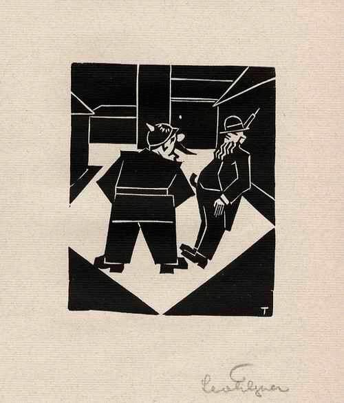 Leo TILGNER - EINSCHÜCHTERUNG: Des SCHUTZMANNes PFLICHT - Original Linolschnitt - handsigniert - 1932 kopen? Bied vanaf 40!
