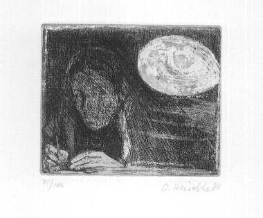 Osterhold Heiseke - - EINZELKÄMPFER - OriginalRadierung Zu Lothar SCHÖNE: Handsigniert & num. (100) kopen? Bied vanaf 35!